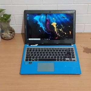Acer V5-471G Intel Core i3-2367M ram 4GB ssd 128GB, VGA NVIDIA Geforce GT 620M slim normal semua siap pakai