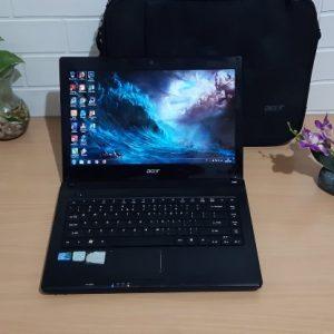 Acer 4738Z Intel Core i3 M350 ram 4GB normal semua siap kerja