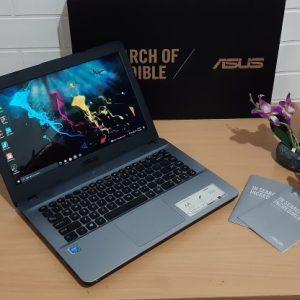 Asus X441MA Intel Celeron N4000 ram 4GB Hardisk 1TB, normal semua siap pakai