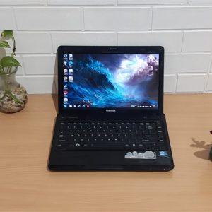 Toshiba L630 Intel Core i3 M380, ram 4GB hdd 500GB, kokoh bandel siap kerja
