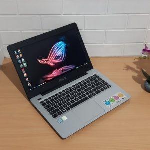 Gaming Asus A456UQK Intel® Core™ i5-7200U ram 8GB ssd 128GB + hdd 1TB, VGA NVIDIA GeForce GT940MX slim layar Full HD 14-inch mulus elegan  (terjual)