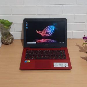 Gaming Asus A455LF Intel Core i3-4005U ram 4GB SSD 128GB + hdd 500GB, VGA Nvidia GeForce GT 930M slim elegan layar 14-inch Full HD