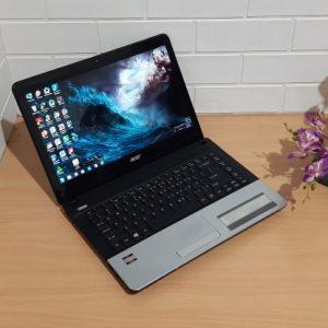 Acer E1-421 AMD DualCore E1-1200 ram 4GB, normal semua siap pakai