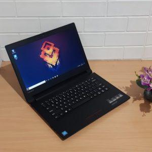 Lenovo V110 Intel Celeron N3350 ram 4GB hdd 500GB, slim mewah elegan (terjual)