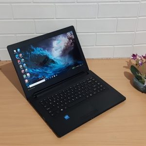 Lenovo Ideapad 300-14IBR Intel Celeron Quad Core N3150 ram 4GB hdd 500GB, slim mulus elegan