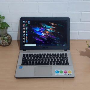 Asus X441SA Intel Celeron N3060 Dual-Core 2,48GHz hd 500GB mulus elegan kekinian normal siap pakai (terjual)