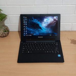 Lenovo S210 Intel® Celeron® 1037U ram 4GB slim layar 11.6 inch siap pakai
