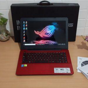 Gaming Asus A455LD Core i5-4210u ram 8GB hardisk 1TB Nvidia GT820 2GB slim mulus elegan normal semua