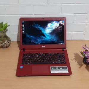 Acer Aspire ES1-432 Intel Celeron Dualcore N3350 ram 4GB hdd 500GB, slim mulus mewah elegan