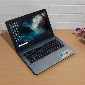 Asus X441NA Intel Dual-Core Celeron N3350 ram 4GB hdd 500GB, mulus elegan